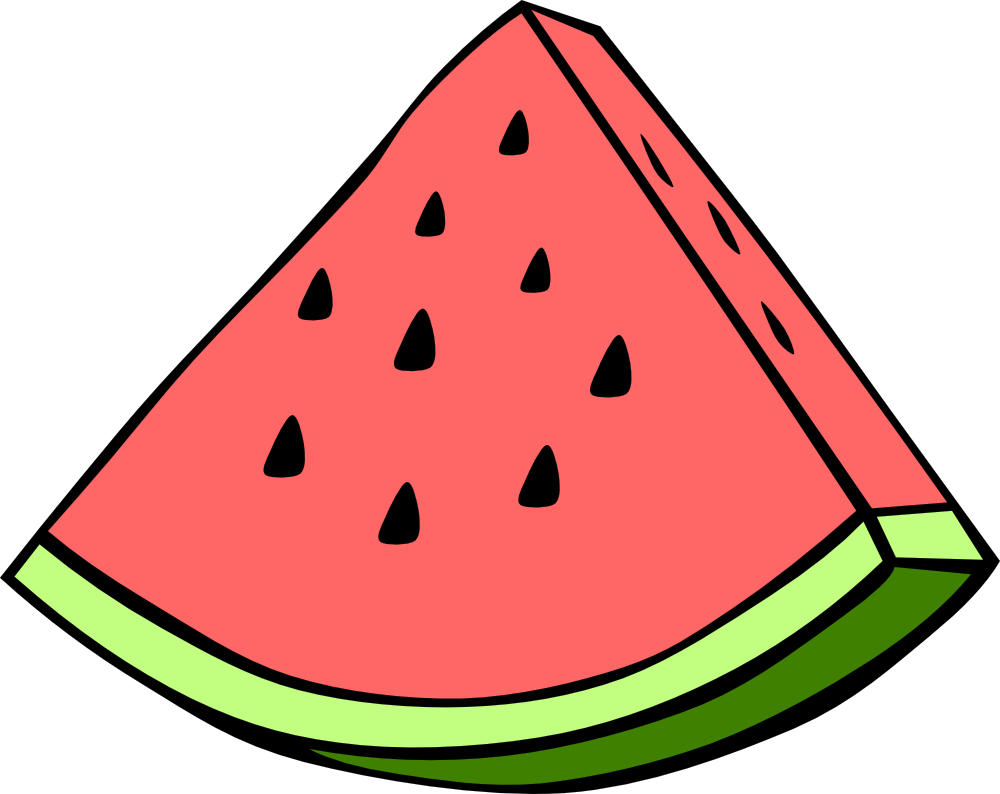 Watermelon Clipart Black And White Free Clipart Clipart Best Clipart Best