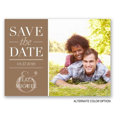 Big Plans Save the Date Postcard   Invitations by Dawn