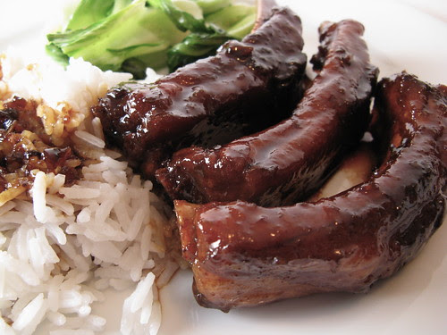 Chinese Braised Pork Ribs