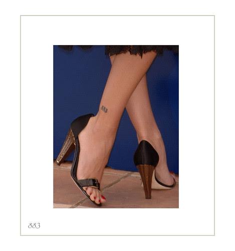 Labels: artist's tattoo, tattoed leg, tattooed ankle, tattooed foot
