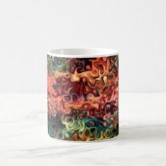 Swirly Modern Art 45.5 Mugs