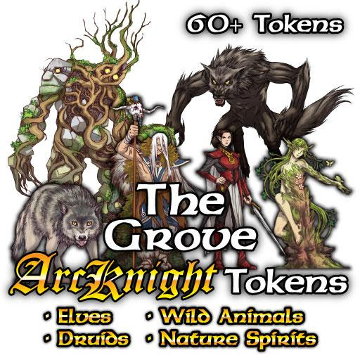 Arcknight Tokens - The Grove       |       Roll20 Marketplace -- art assets, tokens, maps, modules, and more for virtual tabletops and role playing games
