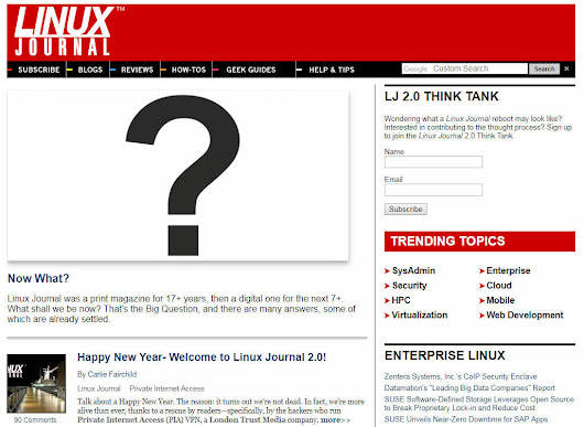 Houston-based Linux Journal is rescued and reborn