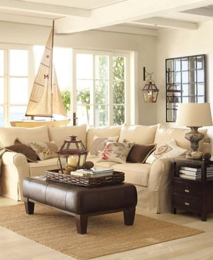 loving the neutral palette - good idea with little ones? probably not :(