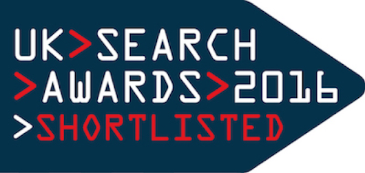 We are shortlisted for the UK Search Awards | Polemic Digital