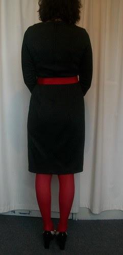 Burda #128 Dress Back