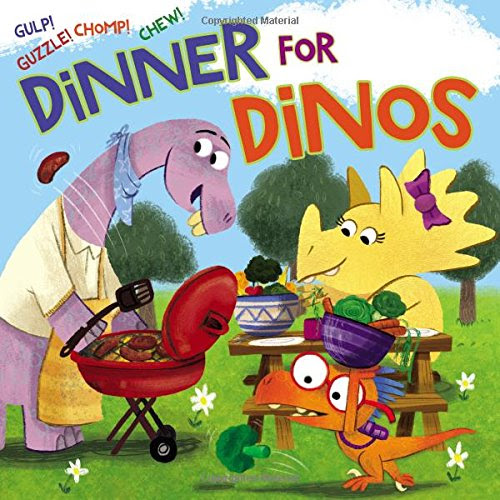 Dinner for Dinos: A Kids Book Review