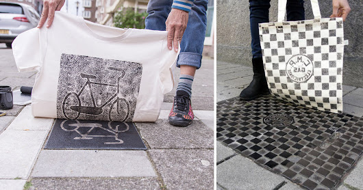 New Designs Printed Directly From Urban Utility Covers by Berlin-Based Pirate Printers