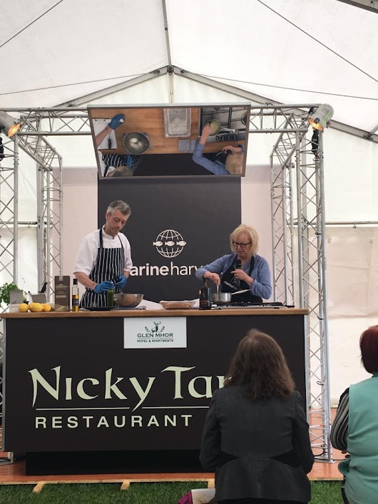 Marine Harvest Kitchen Theatre at Scotland's Salmon Festival - A Wee Pinch of Sugar