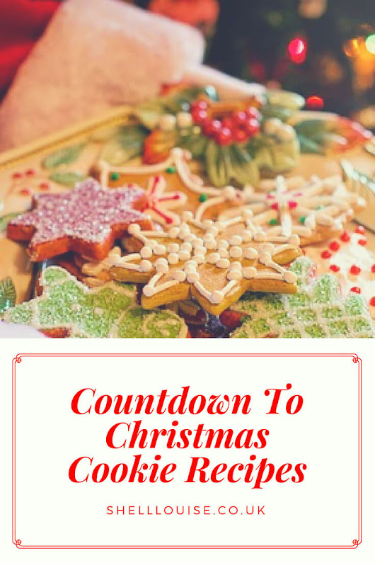 Cookie Recipes - Here are my Countdown To Christmas Cookie Recipes
