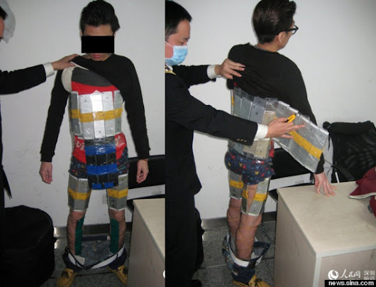Smuggler caught with 94 iPhones strapped to body heading into China