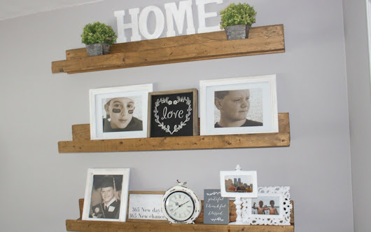 How to Style Farmhouse Shelves - Centsible Chateau