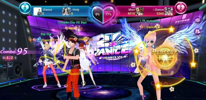 phiên bản mới của game 2dance mobile