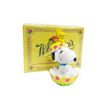 Peanuts whitmans snoopy & woodstock easter egg hatch figure & whitmans box candy sampler 1.75 oz.