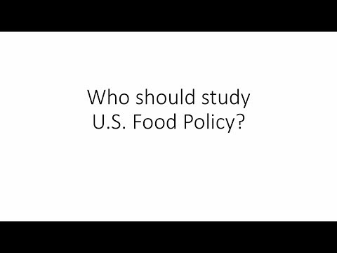 U.S. Food Policy: An Introduction (Second Edition)