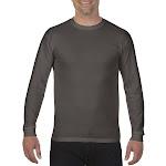 Comfort Colors Long Sleeve T Shirt Men Cotton Long Sleeve Shirt Home Lounge Gym Mens T Shirts For Men Casual, Pepper, Small