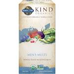 Garden of Life MyKind Organics Multivitamin, Whole Food, Men's Multi, Vegan Tablets - 120 tablets