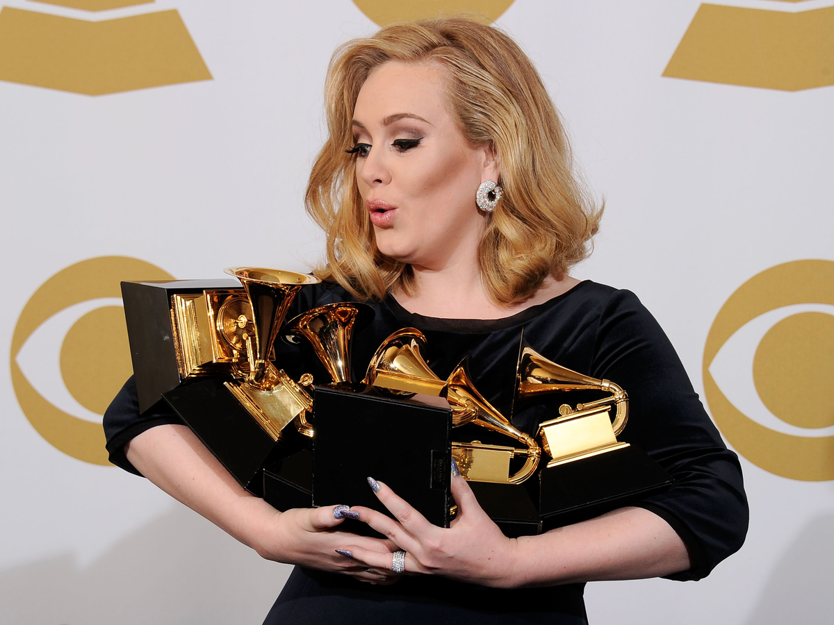 """Adele's """"21"""" was the best-selling album in both 2011 and 2012, with more than 5.8 million and 4.4 million sold, respectively. It is the only album to be the best-selling album for two consecutive years."""