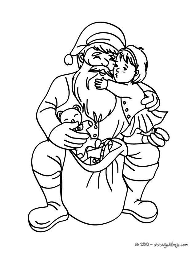 Dibujos Para Colorear Santa Claus 24 Imagenes Navidenas Para