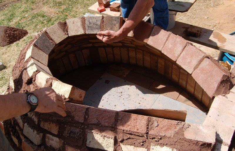 Homemade Wood Fired Pizza Oven Diy Table For Breakfast