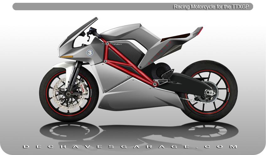 Moto Electrica Deportiva Dechavesmotion
