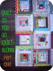 quilt as you go |quilt-along| part one