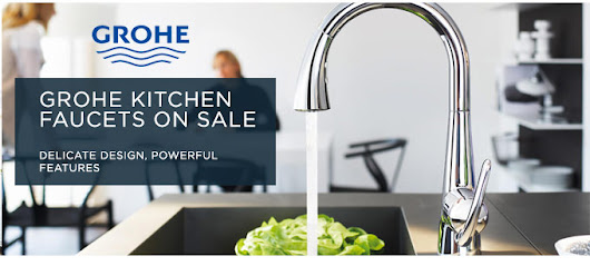Luxurious Grohe Kitchen Faucets on Sale - FaucetDepot.com