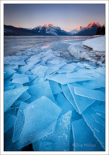 Lake McDonald Ice por Chip Phillips