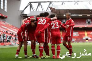 ليفربول في الدوري الانجليزي