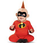 Disney's The Incredibles: Baby Jack Jack Deluxe Toddler Costume - Red - 12-18 Months