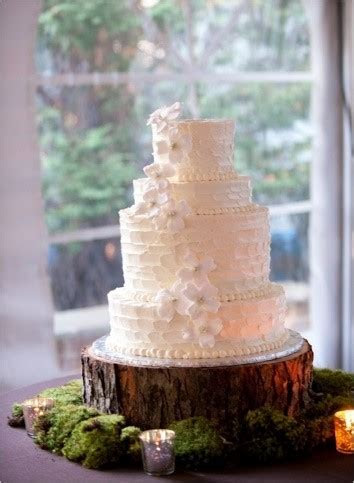 Stand Up and Make a Statement with Rustic Wedding Cake