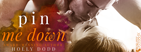 Cover Reveal: Pin Me Down by Holly Dodd