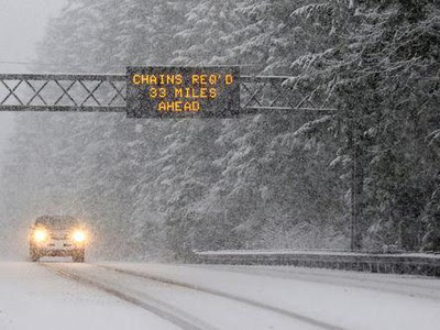 Weekend Blizzard Could Bring 12 To 24 Inches To Oregon Mountain Passes