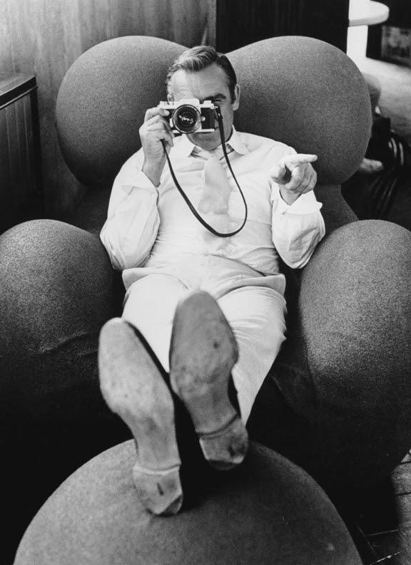 sean connery Des gens célèbres avec des appareils photos  photo liens divers bonus