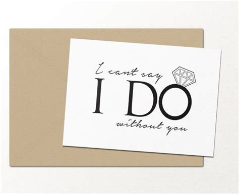 I can't say i do without you // funny greeting card
