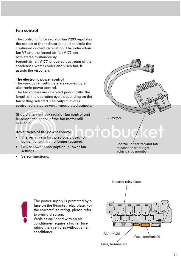 Vw Fan Control Module Diagram