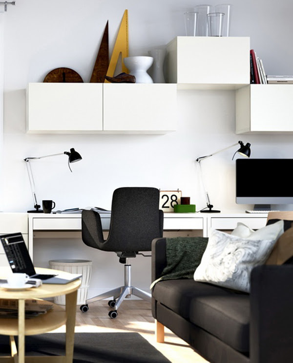 20 Modern Home Office For Small Space Ideas   HomeMydesign