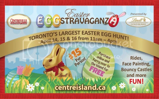 Join Three Day Easter EGGstravaganza 2017 on Centre Island