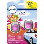 Febreze Car Air Freshener, Island Fresh, Vent Clip - 2 pack, 2 ml clips