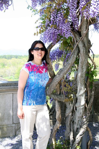 Me and the wisteria