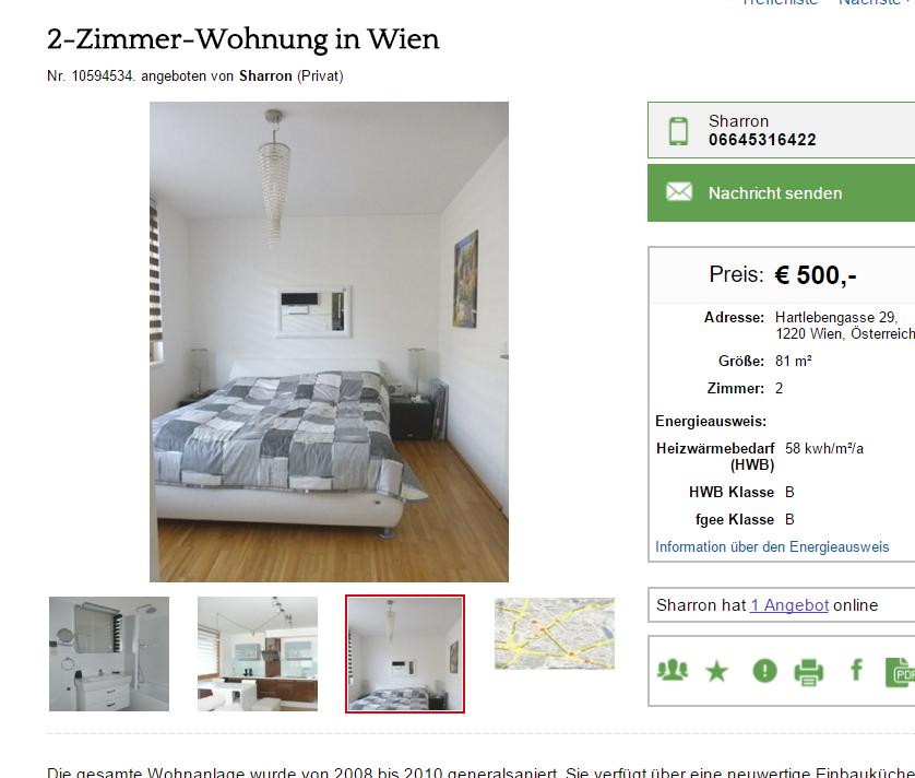 Wohnungsbetrug.blogspot.com: 27. Januar 2016