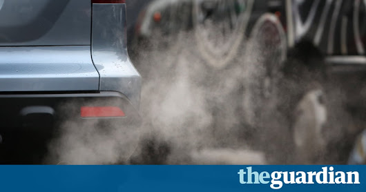 London to introduce £10 vehicle pollution charge, says Sadiq Khan | Environment | The Guardian