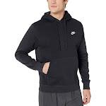 Nike Sportswear Club Fleece Mens Pullover Hoodie - Black - Medium