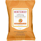 Burt's Bees Peach & Willow Bark Exfoliating Facial Cleansing Towelettes - 25 count