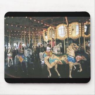 Carousel mousepad