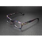 COACH HC6065 5288 Confetti Purple Demo Lens 49 mm Women's Eyeglasses