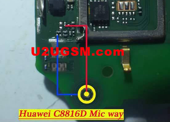 Huawei C8816D Mic Problem Solution Microphone Not Working