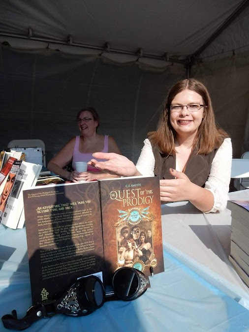 Well I had such a blast at the Decatur Book Festival 2015!!! It was my first ever book festival as an...