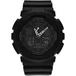 Casio Men's GA100L-1A 'G-Shock' Analog-Digital Black Resin Watch