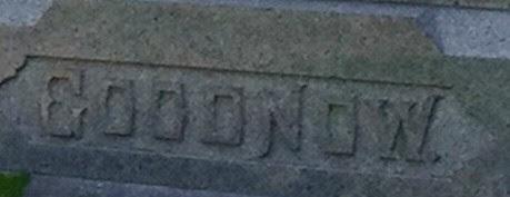 Goodnow Surname by midgefrazel
